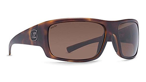 VonZipper Men's Suplex Sunglasses, Tortoise Satin/Wild Bronze