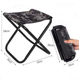 Folding Camp Stool, Digital Camo