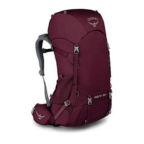 Osprey Renn 50 Women's Backpacking Backpack, Aurora Purple