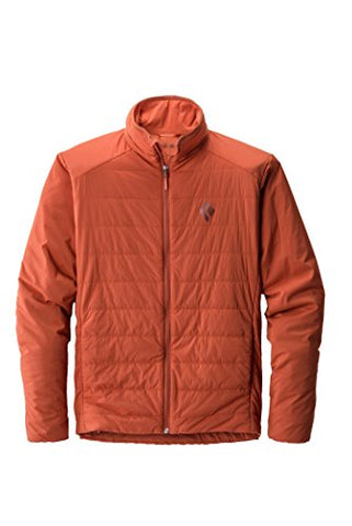 Black Diamond Men's First Light Jacket, Rust, Small