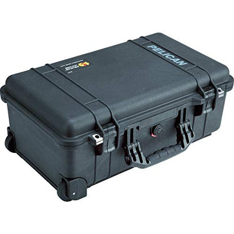 Pelican 1510 Case, w/ Foam, Black
