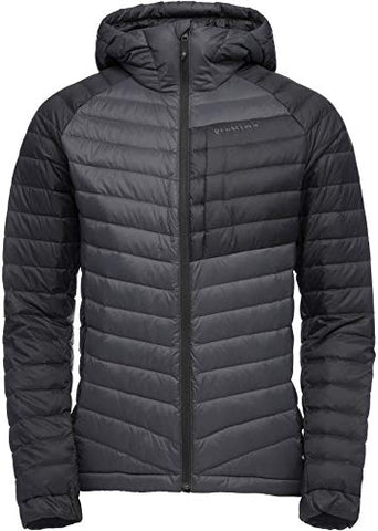 Black Diamond Men's Access Down Hoody,Carbon/Black - X-Large