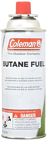 COLEMAN CO-FUEL 9701-700 Butane Canister, 8.8 oz