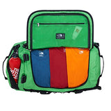 The North Face Base Camp Duffel, Classic Green/TNF Black, Med