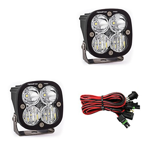Baja Designs, LED Light, Squadron Pro, Black, Pair