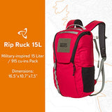 Mystery Ranch Rip Ruck, Cherry, 15L