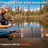 Jackery SolarSaga 60W Solar Panel for Explorer 160/240/500