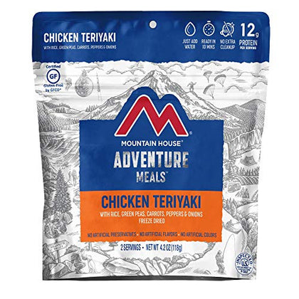 Mountain House, Chicken Teriyaki with Rice - 2 Servings