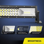 Nilight - 18018C-A LED Light Bar 42Inch