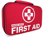 Swiss Safe 2-in-1 First Aid Kit, 120pcs, w/ Bonus 32-Piece Mini First Aid Kit