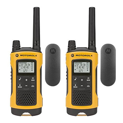 Motorola Talkabout T402 Rechargeable Two-Way Radios, Pair