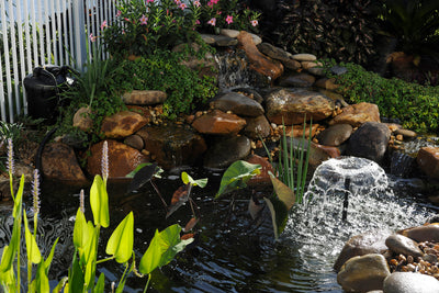 Keep Water Moving with this Simple Pond Accessory