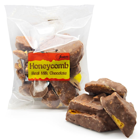 Luxury Milk Chocolate Covered Honeycomb