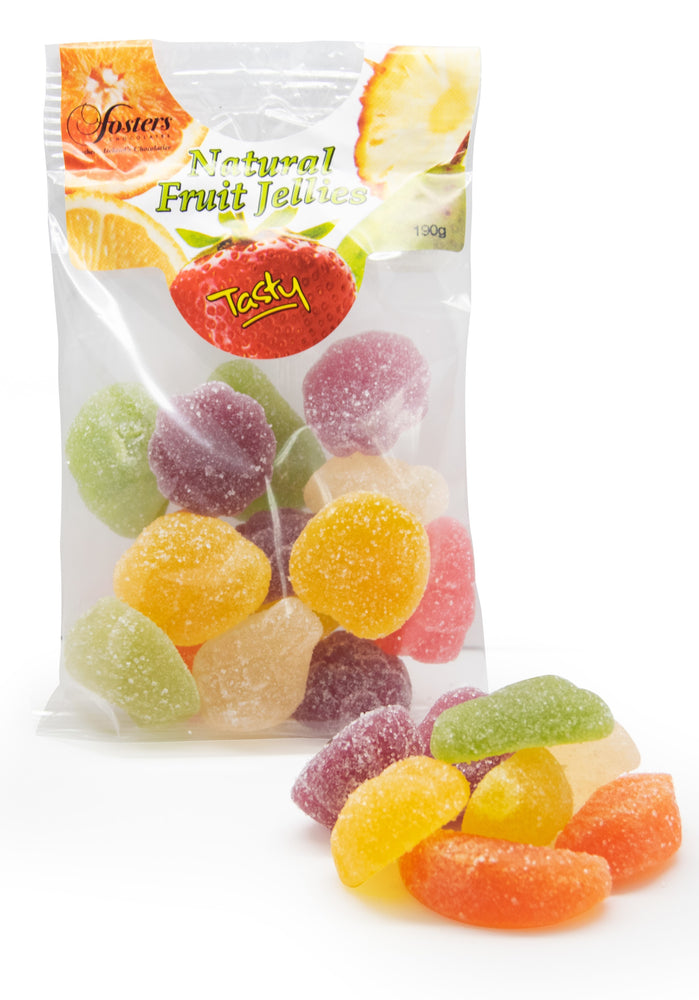 Luxury Fruit Jellies with Natural flavours