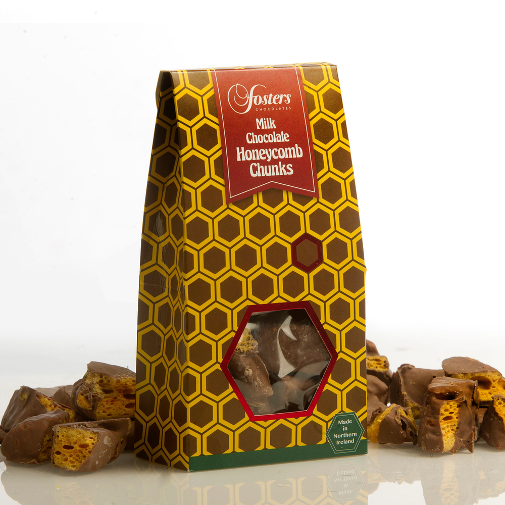 Milk Chocolate Honeycomb Chunk Gift Box
