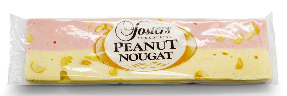 Peanut Chewy Pink & White Nougat
