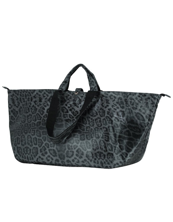 Großer Shopper Leopard Grau | All-time Favourites
