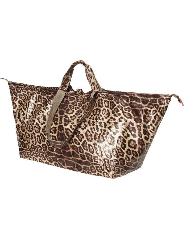 Großer Shopper Leopard Beach Bag Shopper mit Reißverschluss! | All-time Favourites