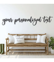 Personalized Custom Name Wood Sign in 27 Fonts