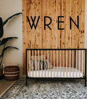 Personalized Custom Nursery Name Wooden Sign
