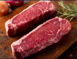 New York Strip Steaks