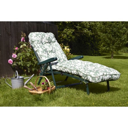 Deluxe Garden Sunbed (pattern options available)