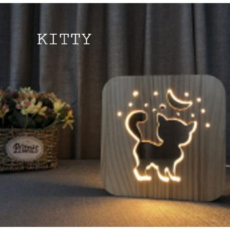 USB LAMP KITTY