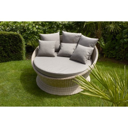 Chamonix Rattan Day Bed Latte