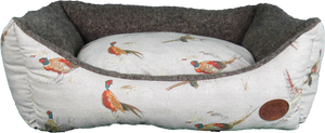 Snug and Cosy Nature collection Rectangular - Pheasant print