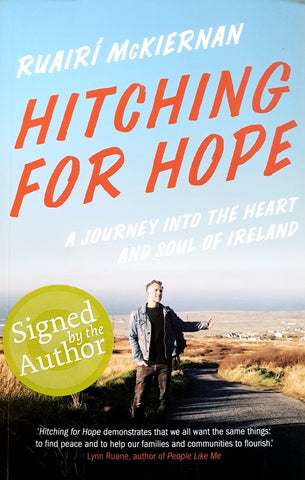 Hitching for Hope - A Journey into the Heart and Soul of Ireland - Ruairí McKiernan - The Salmon Bookshop & Literary Centre, Ennistymon, Co. Clare, Ireland