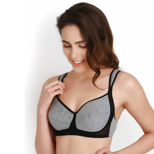 Medium Coverage Medium Impact seamed Sports Bra