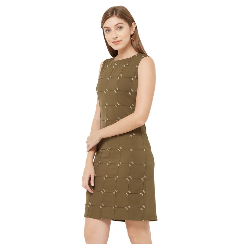 Cross Tuck Dress