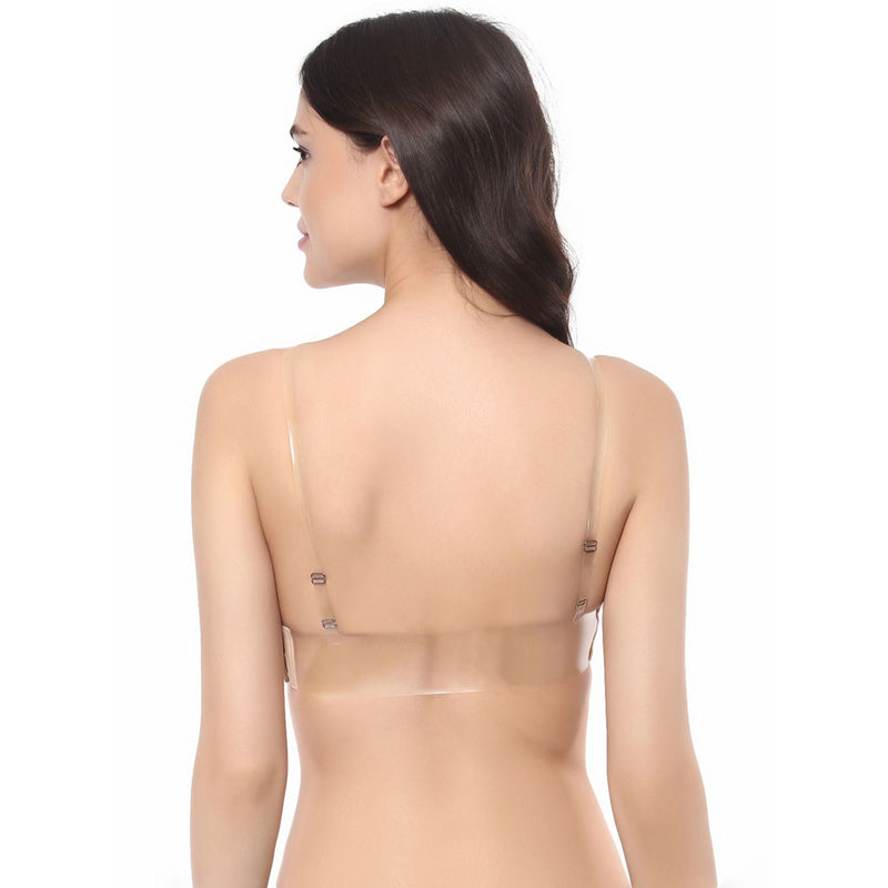 Medium Coverage Non Padded Non Wired Muiltyway Bra - Nude