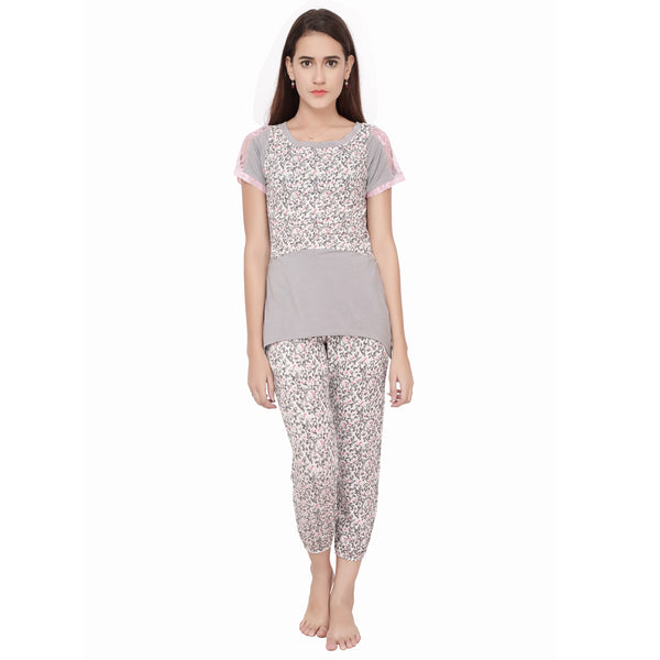 Printed Nightwear Set