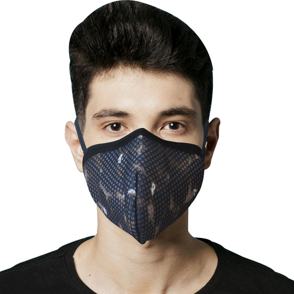 Printed 8 Layer reusable SN 99.9 Protection Ear Loops Freedom Mask