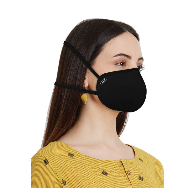 8 Layer reusable SN 99.9 Protection Head Loops Freedom Mask
