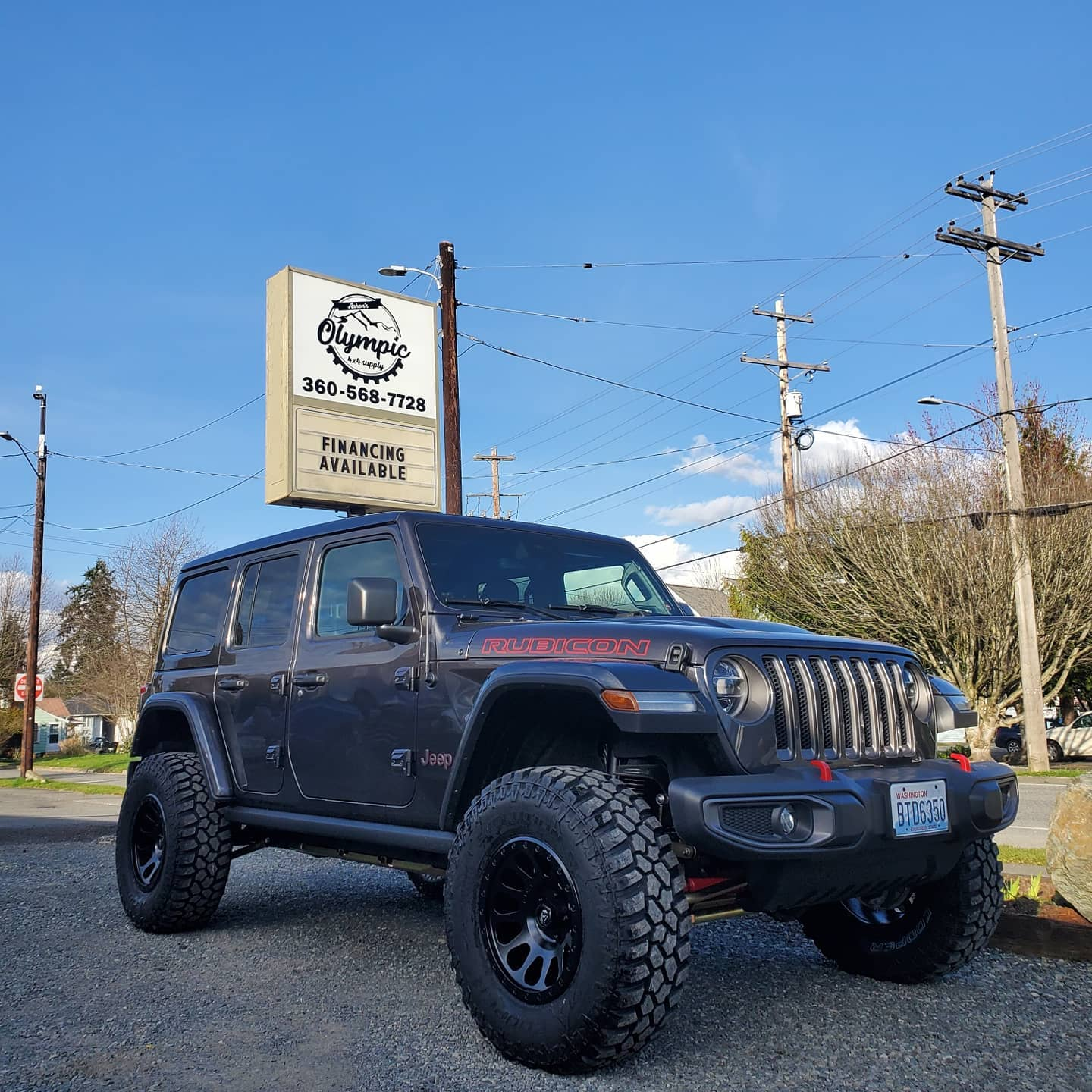 Rubicon & New Sign