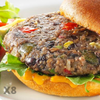 Roasted Poblano & Black Bean Burgers