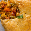 Vegetable Curry Large Gourmet Savory Pie