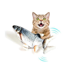 Load image into Gallery viewer, Kicker Fish Toy for your Cat / Dog Pet, Fun Toy for Cat Exercise Playing