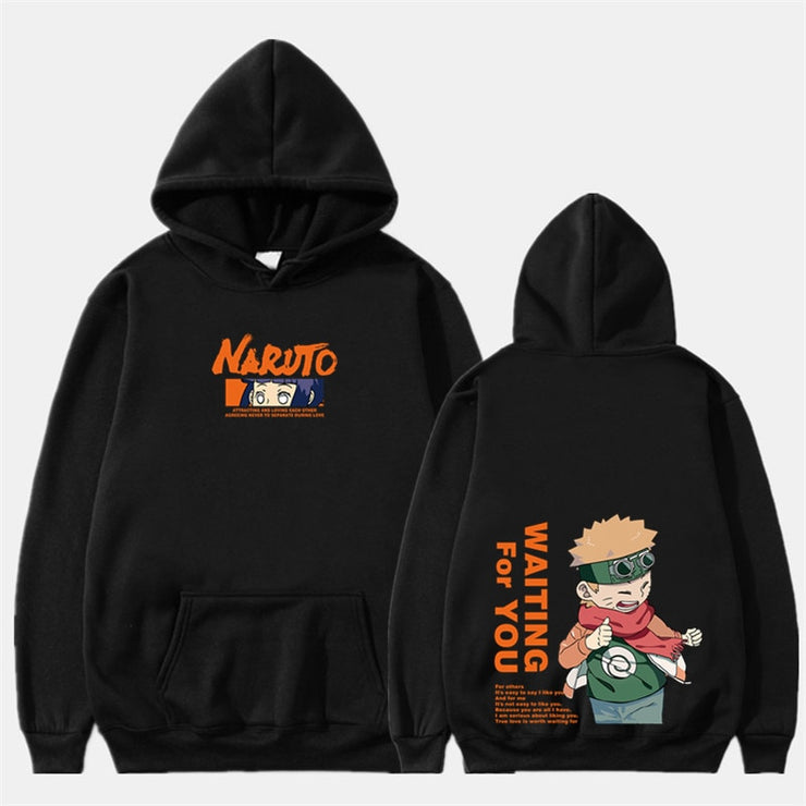 Sweat Shirt Duo Naruto Et Hinata Love