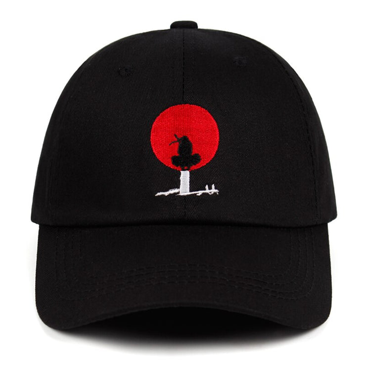 Itachi Akatsuki dad hat Anime Uchiha Itachi 100% Cotton embroidery Baseball Cap Snapback Unisex outdoor leisure caps