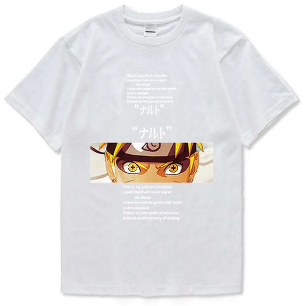 T-Shirts Naruto Mode Ermite
