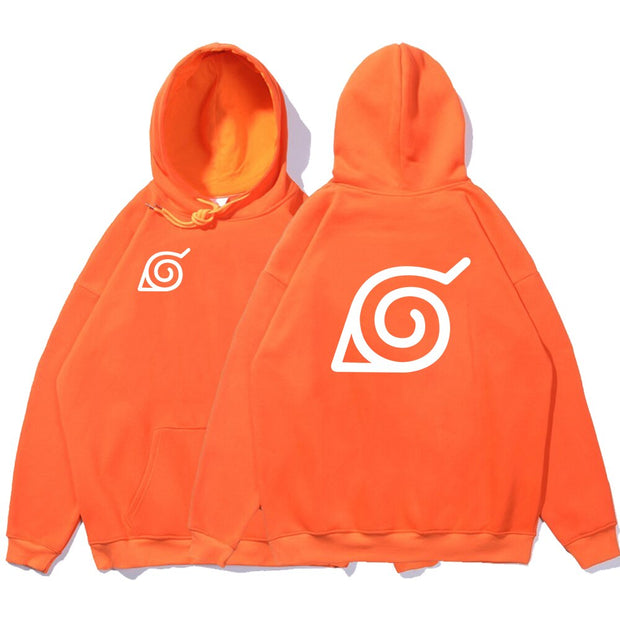 Sweat Shirt Naruto Symbole Leaf Village Konoha