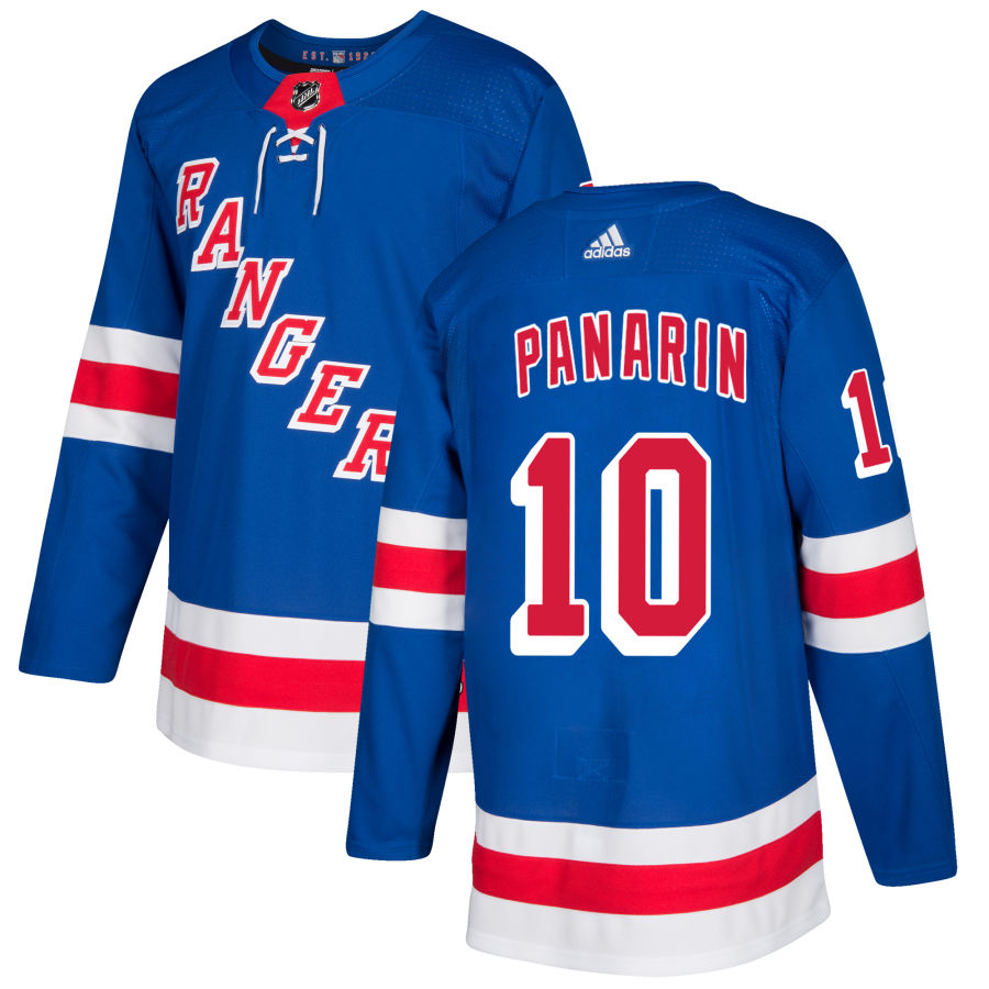 Rangers Royal Home Player Jersey Panarin #10