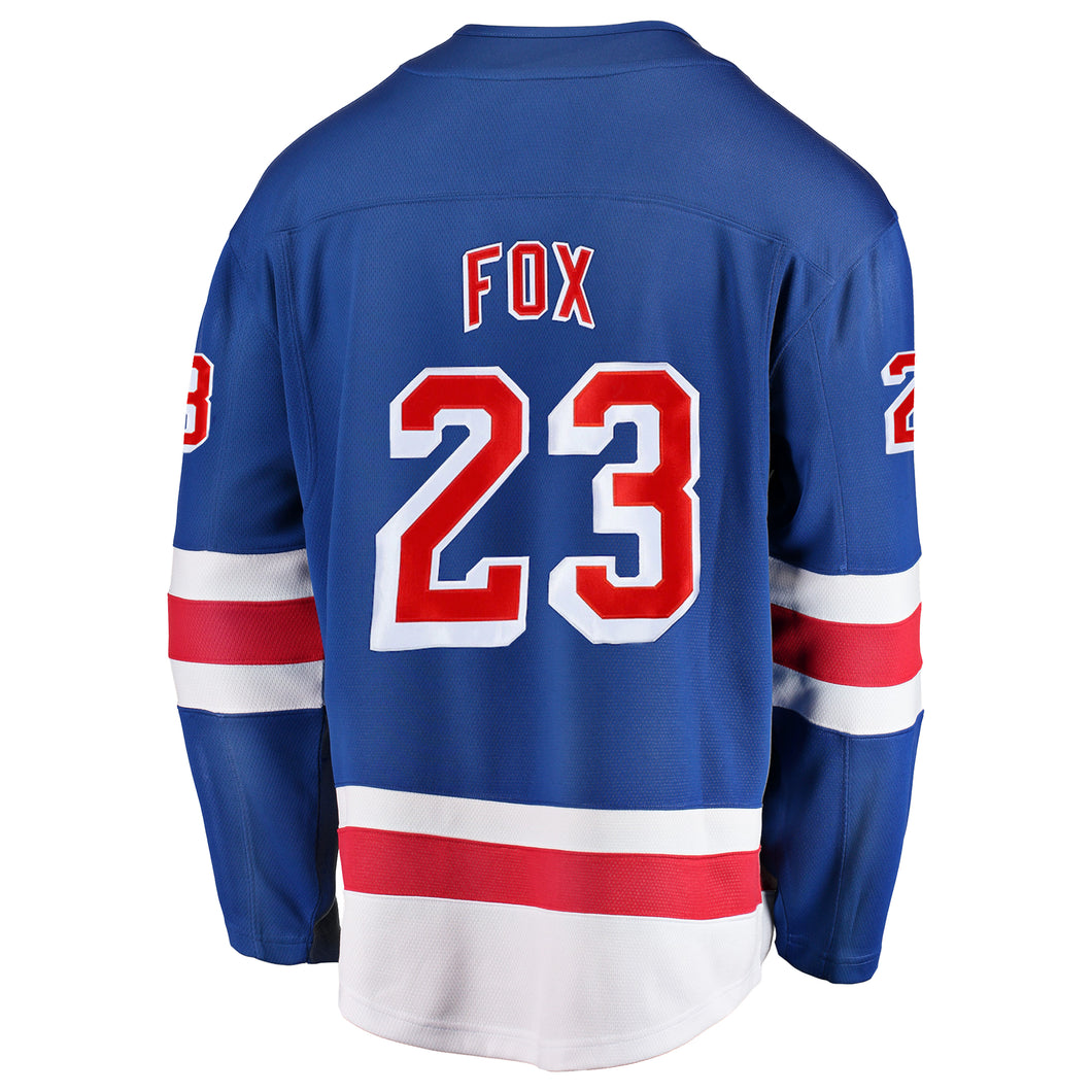 Rangers Special Edition Breakaway Player Jersey Royal Home Fox #23