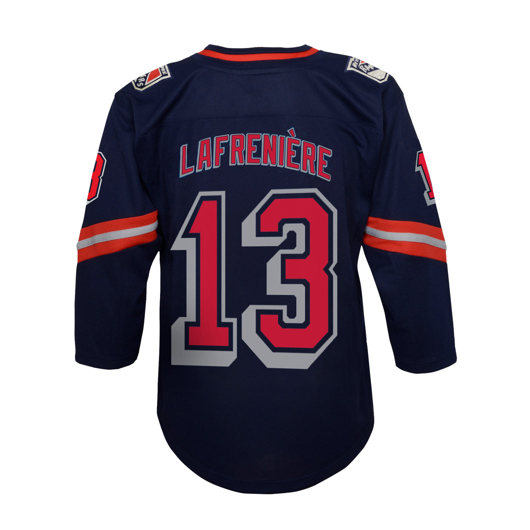 Rangers Special Edition Child Player Jersey Lafreniere #13