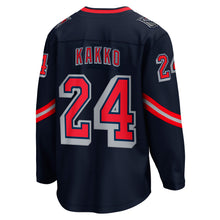 Load image into Gallery viewer, Rangers Special Edition Breakaway Player Jersey Kakko #24