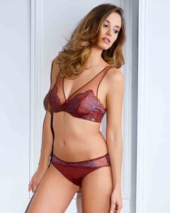 Millesia Natacha Underwire Triangle Bra