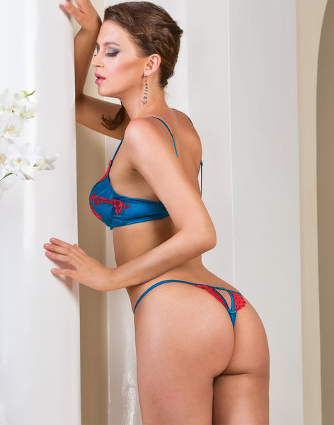 Cotton Club La Seta Sublime Silk G-String